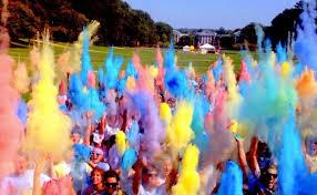 powder color fight party ideas pinterest color wars