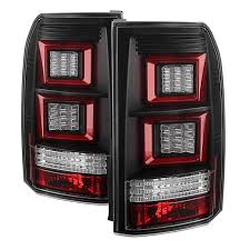 discovery 2 rear light conversion 05 09 land rover discovery 3 lr3 performance led tail lights black