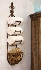 Bathroom Towel Storage Ideas by Top 25 Best Bath Rack Ideas On Pinterest Clever Storage Ideas