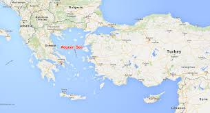 Greece Turkey Map by Turkish Greek Fighters Engaged In Dogfight Over Aegean Sea