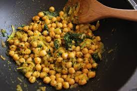cuisiner des pois chiches pois chiches à l indienne épices et lait de coco la fée stéphanie