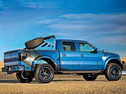 Ford Raptor With Lift Kit - ford raptor 2015 blue wallpaper