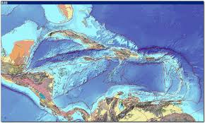 Map Of Caribbean by Usgs Ofr 97 470 K Geology Of The Caribbean Region