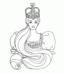 princess barbie coloring pages printable kids coloring point