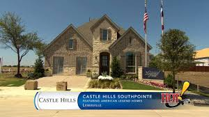 Shaddock Homes Floor Plans Castle Hills Presents Castle Hills Southpointe With American