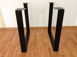 28 desk legs metal industrial desk or dining table legs