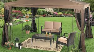 Backyard Canopy Covers Brilliant Tags Steel Pergola With Canopy Screened Gazebo Kits