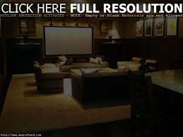 home theater basement basement home theater with recessed lights and wall sconces home