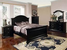 bedroom elegant 7pc district black washed king size platform