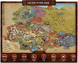 Map Of Balboa Park San Diego by San Diego Zoo Safari Park Park Map The Final Destination For My