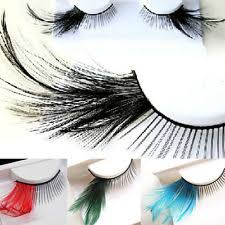 feather eyelashes ebay