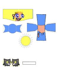 castle crashers blue princess template by ludabo98 on deviantart
