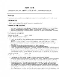 Esl Teacher Resume Examples by Teacher Resumes High Teacher Resume Sample Resume Examples