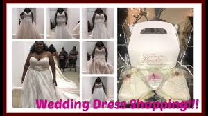 Wedding Dress Shop Wedding Dress Shopping Plussizebride Youtube