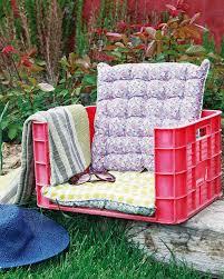 Garden Bench With Cushion Diy Outdoor Furniture Ideas The Idea Room