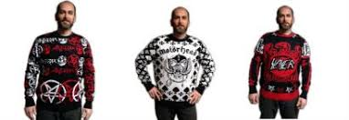 slayer motörhead anthrax sweaters available