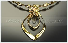design necklace pendant images Kerala gold jewellery design pendant 15 jpg