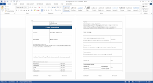 Spreadsheet Word Change Management Plan Download Ms Word U0026 Excel Templates