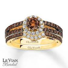 chocolate wedding ring set levian chocolate wedding levian chocolate diamonds 7 8 ct tw