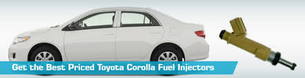 toyota corolla fuel toyota corolla fuel injectors injector replacement gb