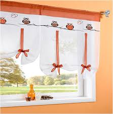Owl Kitchen Curtains by Roman Blind Rod Picture More Detailed Picture About 2016 Cafe