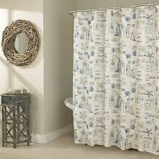 Sea Themed Shower Curtains By The Sea Fabric Shower Curtain Boscov S With Sea Themed Shower