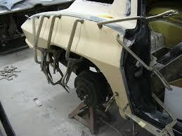 corvette fiberglass repair socal paint works automotive restoration
