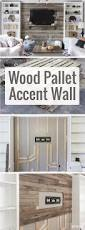 how to create a wood pallet accent wall pallet accent wall wood