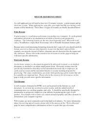 resume cover letter format sample cover letter resume reference page template free reference page cover letter cover letter template for example of a reference page job resume references format sample