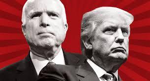 Trump Kumbaya Trump And Mccain On Collision Course Politico