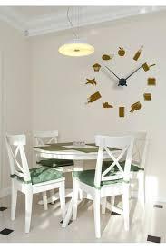 montre de cuisine montre de cuisine design sticker horloge murale en cuisine 2 horloge