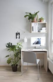 comfortable and functional work space in the living room set up
