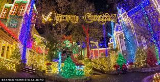 holiday light displays near me branson christmas light displays 2018 branson christmas intended for