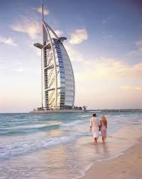 burj al arab famous sailboat hotel in dubai arab emirates