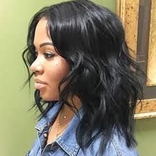 cute sew in hairstyles for black people shoulder length weave hairstyles for black women hairstyle