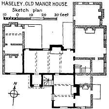 Medieval Manor House Floor Plan by Parishes Haseley British History Online