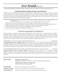 Best Qa Resume Template by Gorgeous Inspiration Crna Resume 5 Good Crna Cv Resume Example