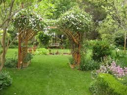 Garden Design Using Bamboo With Orchard  Ground Lighting - Backyard orchard design