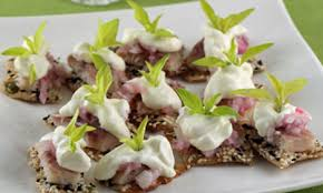 how to canapes how to smoked eel canapés the local