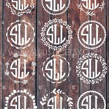 monogram letter stickers best letters stickers products on wanelo