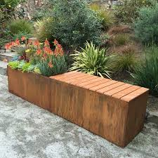 corten steel planters u2013 nice planter llc