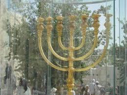 jerusalem menorah the menorah seven branches or nine united with israel