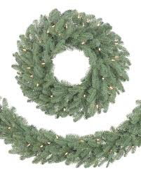 holiday time pre lit 18 christmas garland multi lights bh balsam fir artificial christmas wreaths and garlands balsam hill