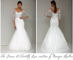 lhuillier wedding dresses deshawnta s lhuillier created a custom chantilly lace