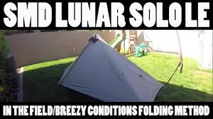 six moon designs lunar solo le in the field breezy conditions