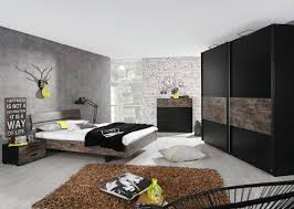 chambre adulte noir chambre adulte contemporaine coloris noir brun matra chambre