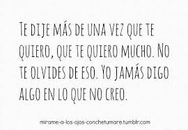 imagenes tumblr te quiero mucho 53 images about on we heart it see more about love frases