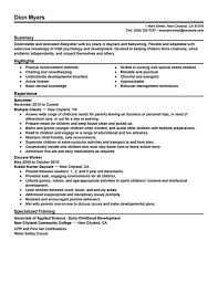 Resume Sample Waiter by Resume Sample Waiter Best Free Resume Collection