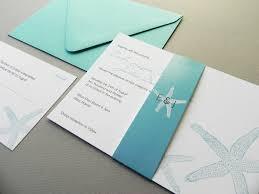 Wedding Invitations And Rsvp Cards Beach Starfish Destination Wedding Invitation Suite Rsvp