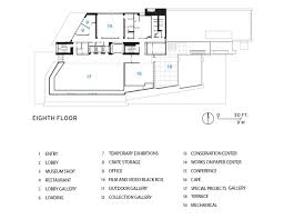 new museum floor plan whitney museum of american art by renzo piano building workshop